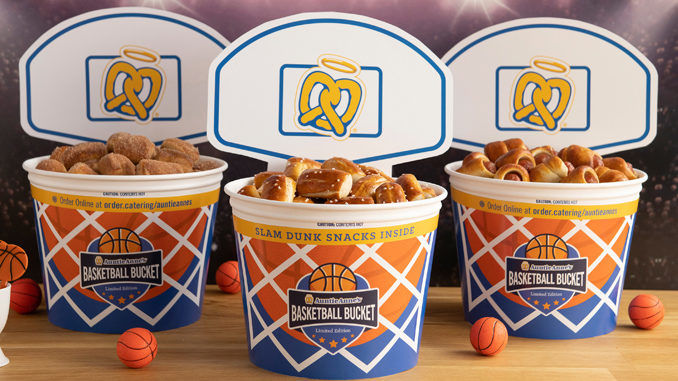 Dunkable Pretzel Buckets