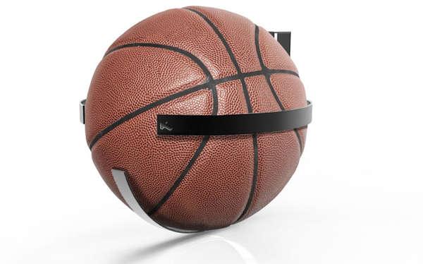 Door Hung Basketball Holders