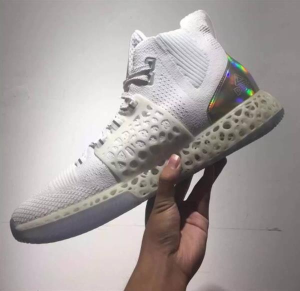 Printed Basketball Sneakers