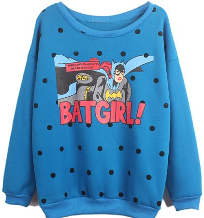 Standout Female Superhero Sweaters