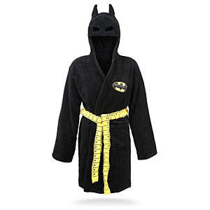Superhero-Inspired Bathrobes
