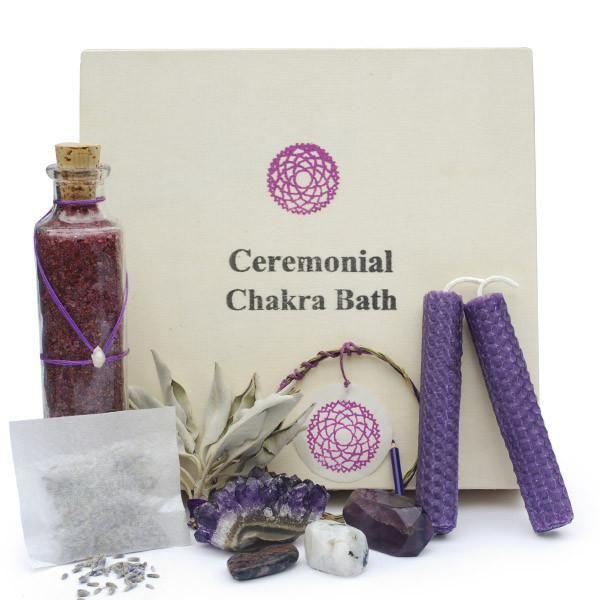 Chakra-Balancing Bath Sets