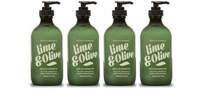 Oil-Enriched Shower Soaps