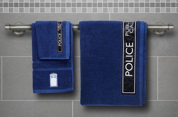 Time Machine Towels
