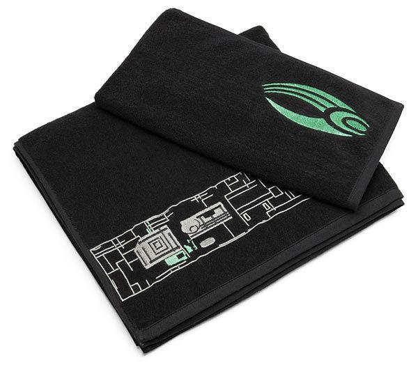 Geeky Alien Towels