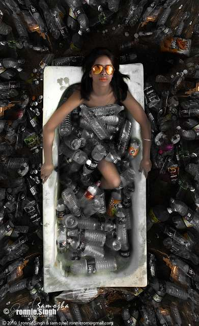Recyclable Bathing Shoots