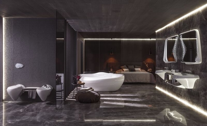 Futuristic Bathroom Designs