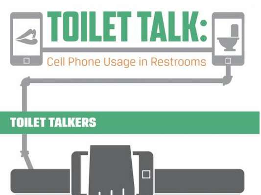 Phone Damaging Toilet Infographics