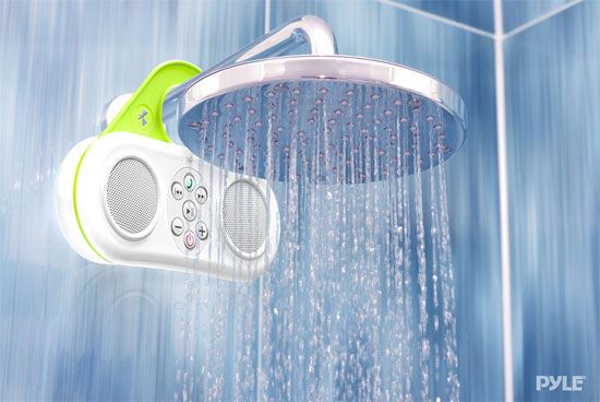 Integrated shower sound systems bathroom speaker - Waterproof sound system for bathroom ...