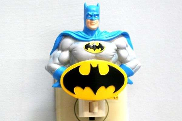 Caped Crusader Sleeping Lights