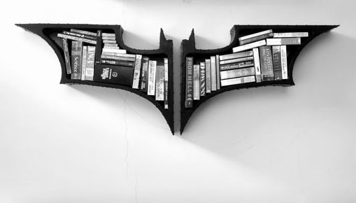 Superhero Storage Systems Batman Bookshelf