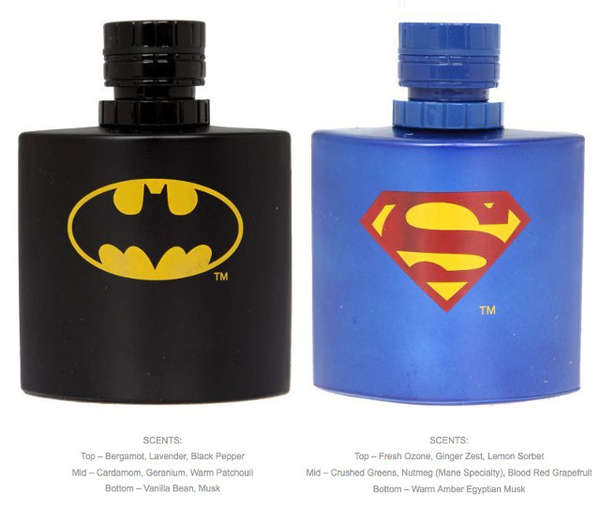 Superhero-Inspired Colognes