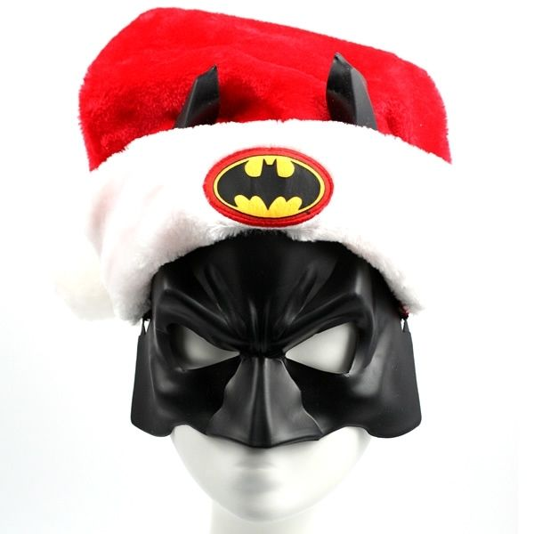 Heroic Holiday Headwear Batman Santa Hat