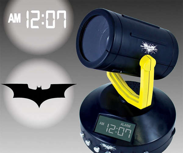 Hero Calling Alarm Clocks Batman Signal