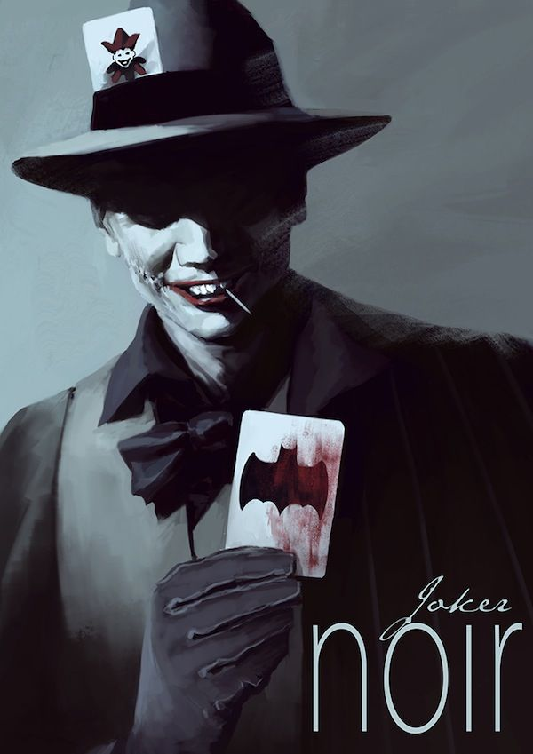 Villainous Film Noir Illustrations