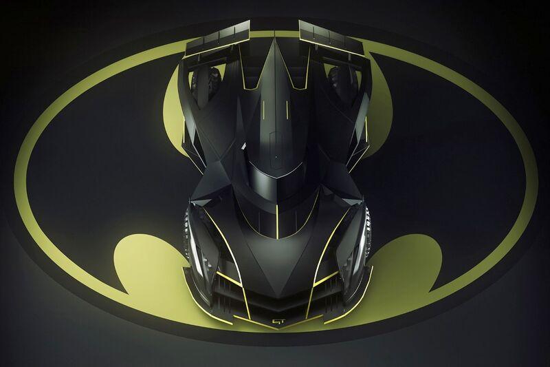 Edgy Superhero Sports Cars