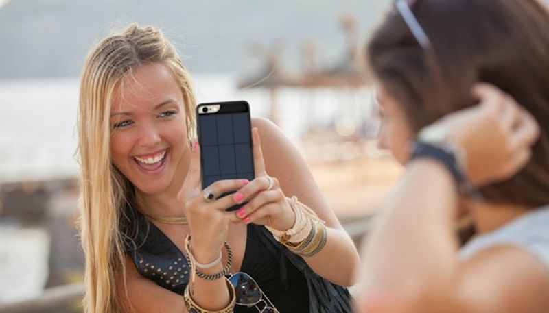 Solar Panel Smartphone Shields