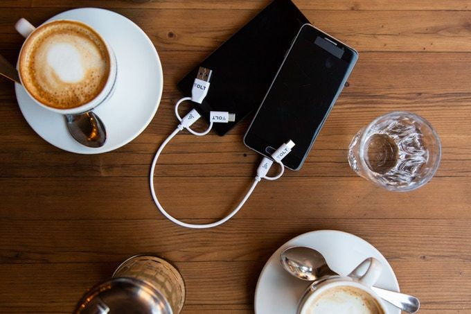 Three-in-One Power-Sharing Cables