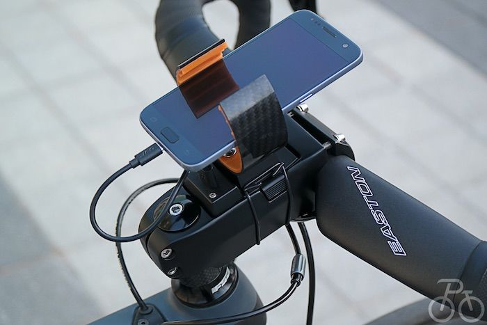 Cyclist Smartphone Batteries