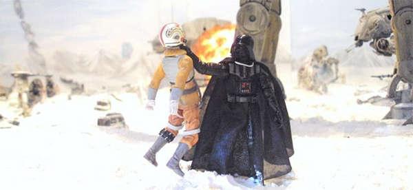 Sci-Fi Battle Dioramas