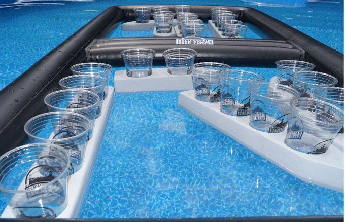 Aquatic Beer Pong Games
