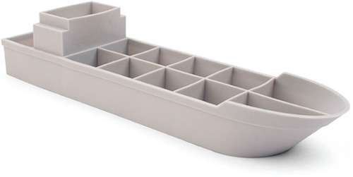 Frosted Navy Trays