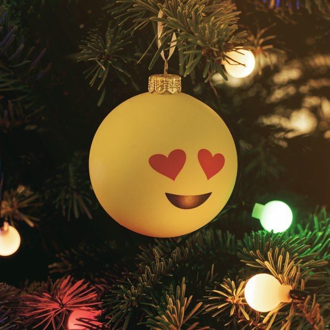 Christmas Emoji Baubles