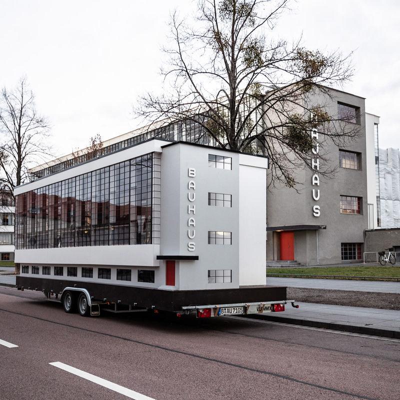 Touring Bauhaus Buses