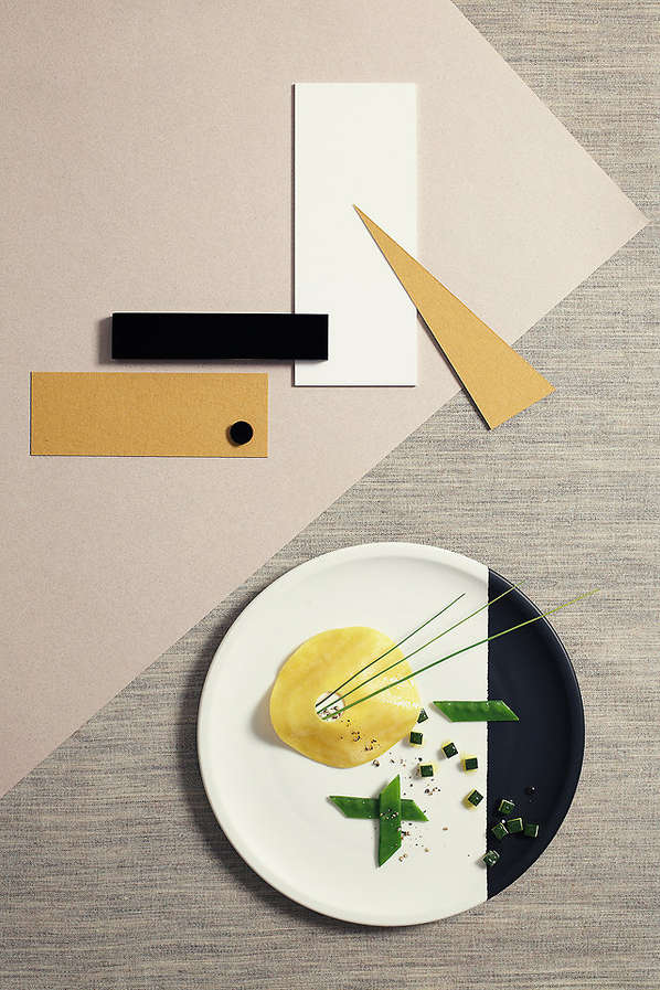 Architecture-Inspired Food Photography
