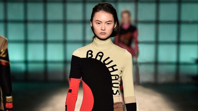Bauhaus-Inspired Fashion Runways