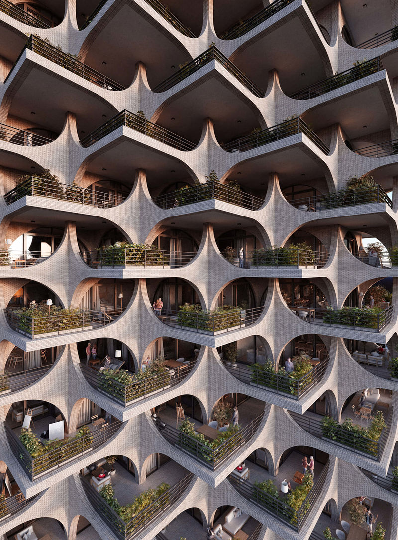 Modular Bauhaus-Style Buildings
