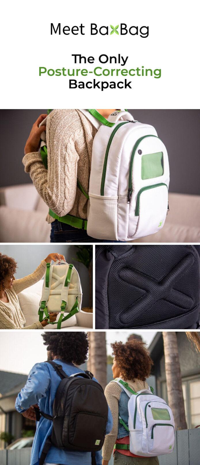 Vegan Posture-Correcting Backpacks
