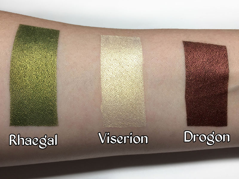 Dragon-Inspired Eye Shadows