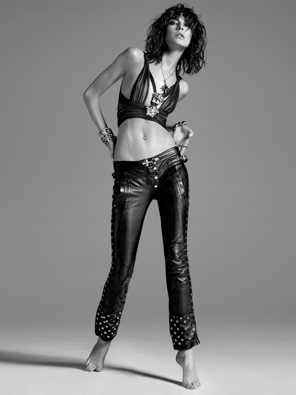 Bejeweled Rocker Editorials