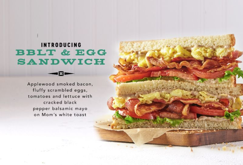 Elevated BLT Sandwiches
