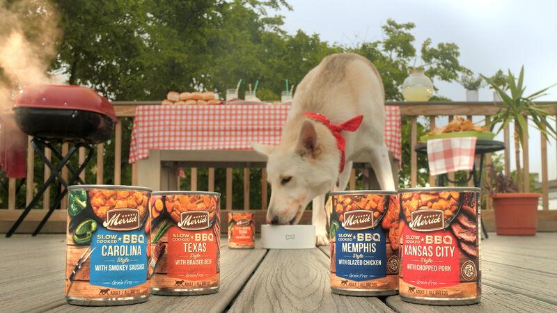 BBQ Dog Food Bowls