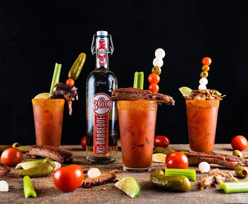 BBQ-Flavored Vodkas