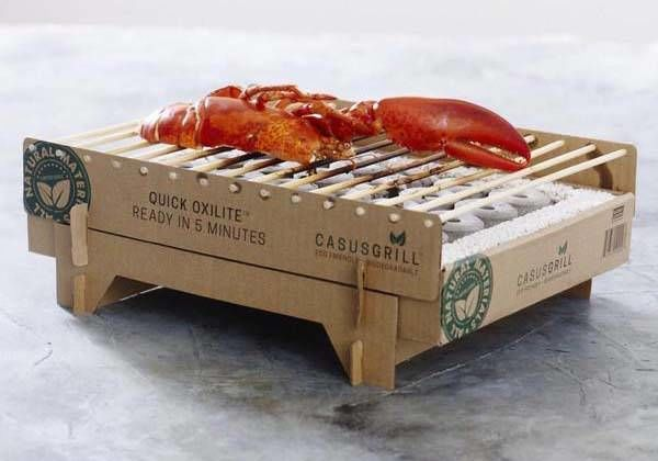 Biodegradable BBQ Grills