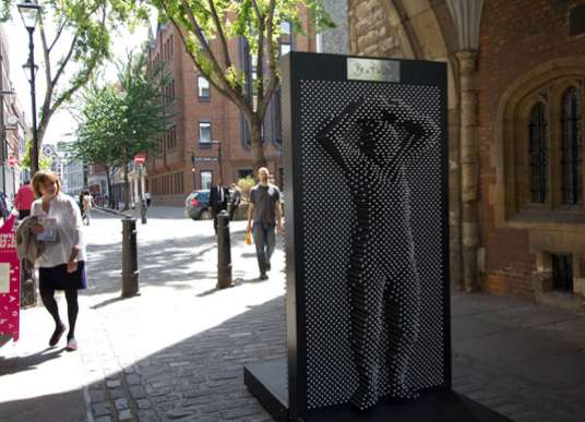 Pinscreen Public Sculptures