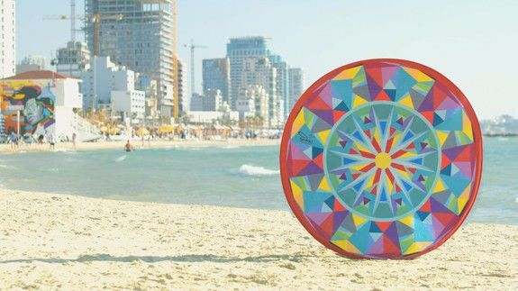 Pop-Up Beach Towels