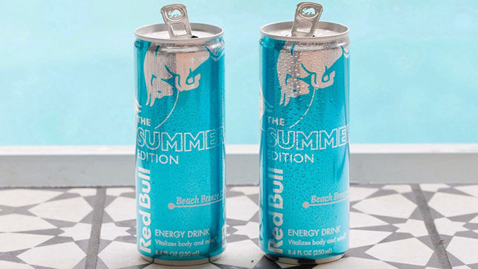 Beach-Themed Energy Drinks