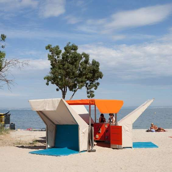 Pop-Up Seaside Libraries