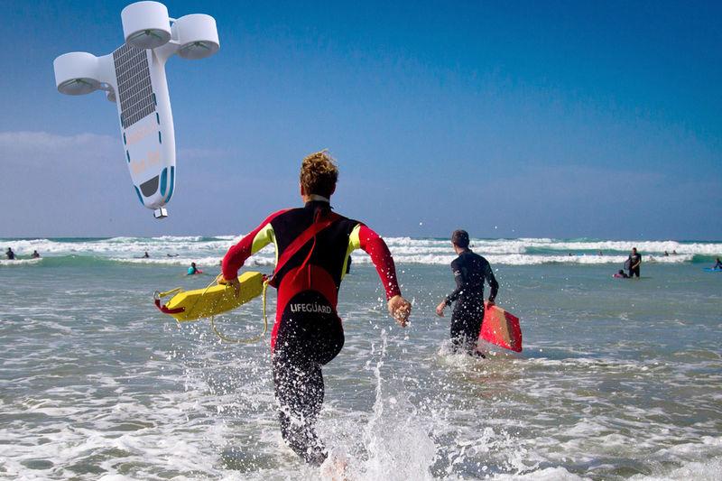 Autonomous Beach Lifeguards