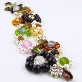 DIY Colorfully Beaded Bracelets