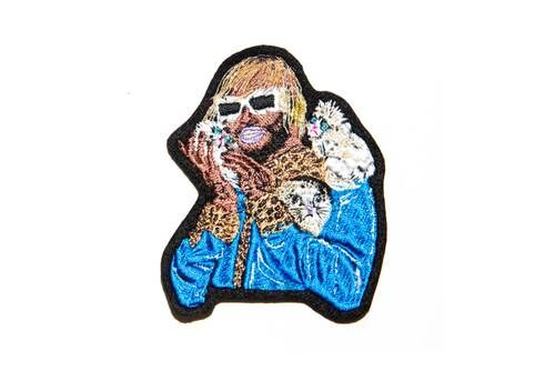 Musical Artist Embroidered Patches