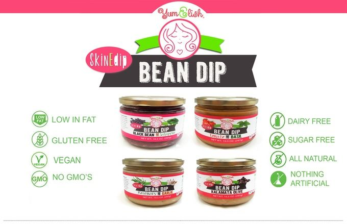 All-Natural Bean Dips