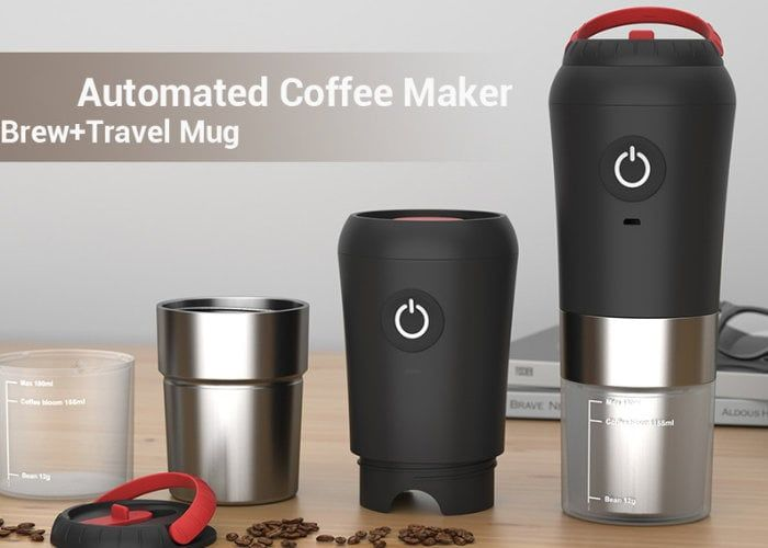 Travel-Friendly All-in-One Coffee Makers