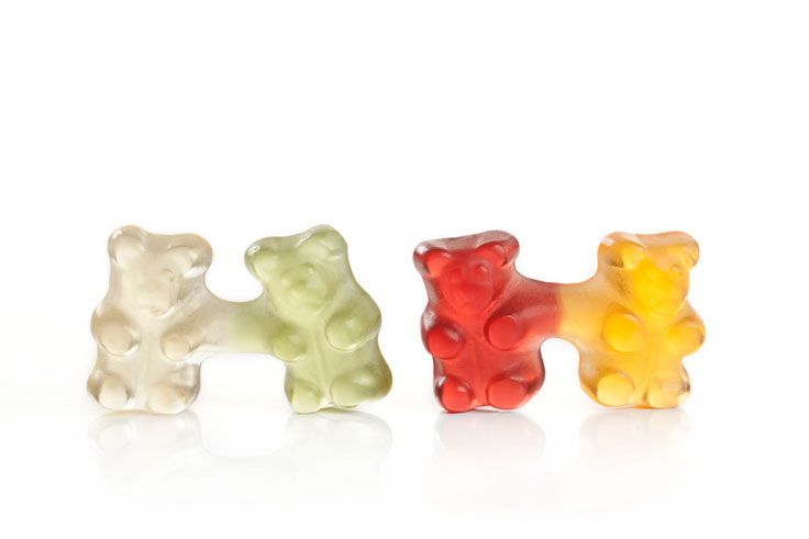 Conjoined Candy Bears