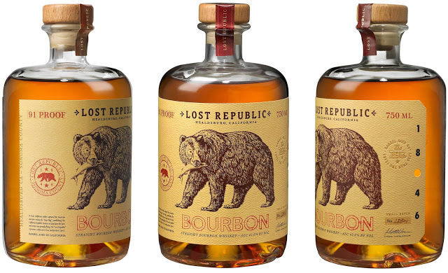 Revolutionary Whiskey Bottles