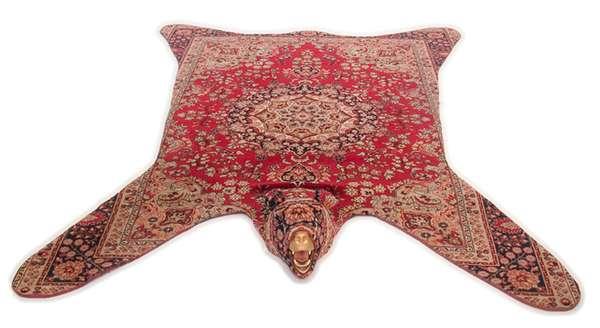 Persian Bear Rugs - Pixelated Non-Persian Rugs : Pixel Rug